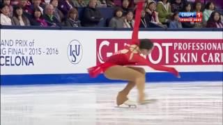 Polina Tsurskaya SP   Barcelona Junior Grand Prix Final 2015
