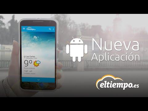 Nueva app de ElTiempo.es en Android