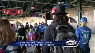 Manchester MDA Muscle Walk raises thousands for research