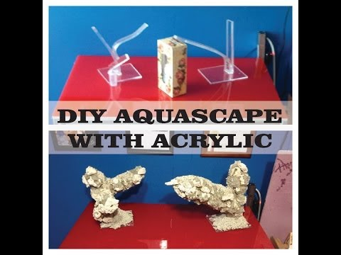 DIY Aquascape With ACRYLIC