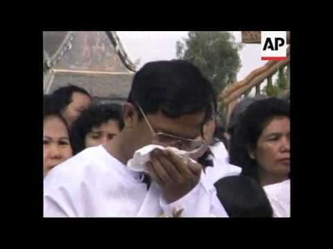 CAMBODIA: FUNERAL OF HUN SEN'S MOTHER DY POK