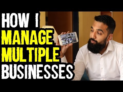 How I Manage My Businesses Remotely From Any Location   Azad Chaiwala Show