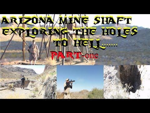 AZ MINE SHAFT EXPLORING''THE DROP IN MINES''-PART 1-