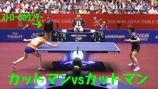 カットマン同士の対戦で促進ルール適用 (卓球芸人ぴんぽんが観覧席に!) thumbnail