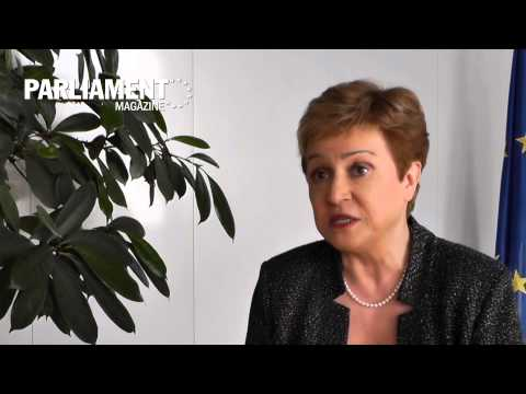 Interview with European commissioner Kristalina Georgieva