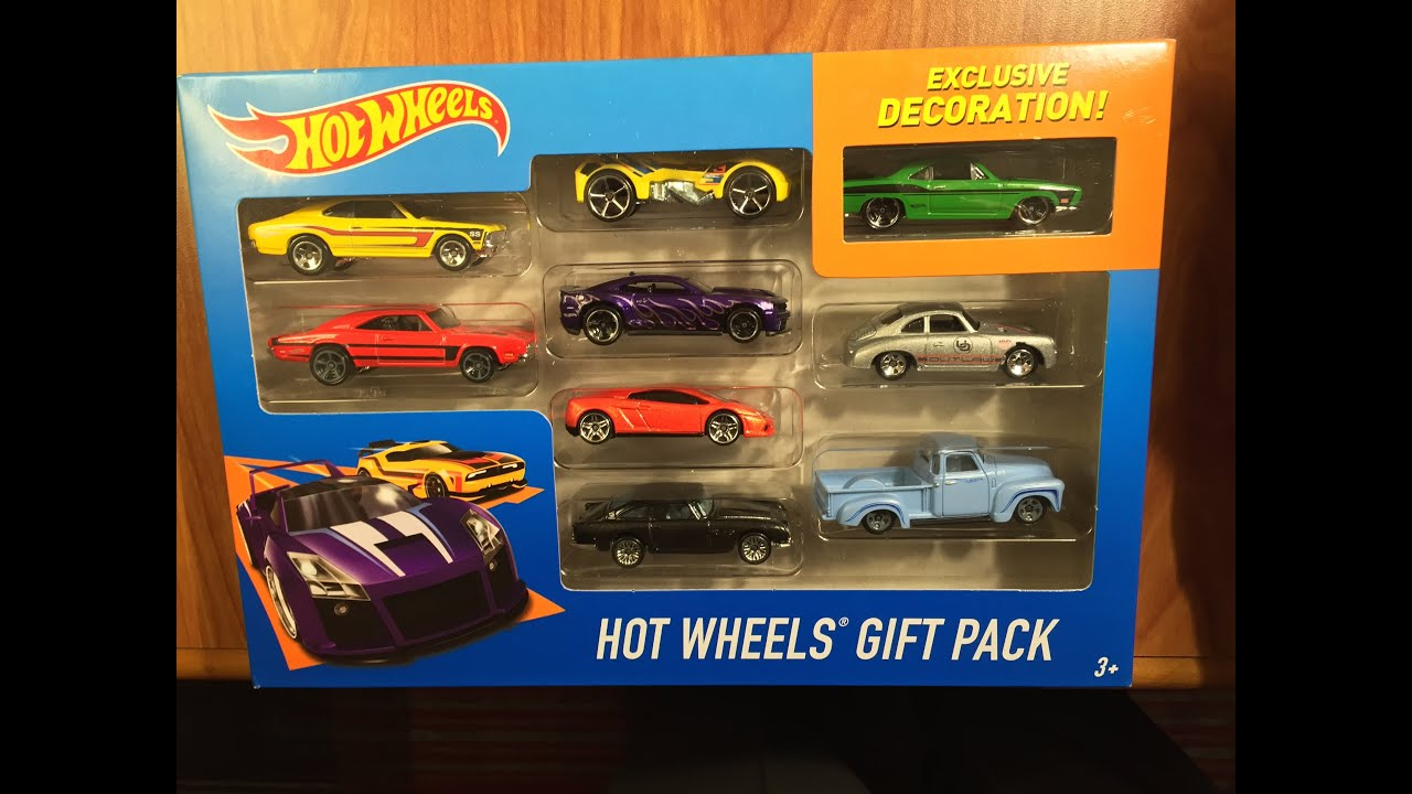 2016 Hot Wheels Gift Pack Exclusive Cars Review & Variation Find ...