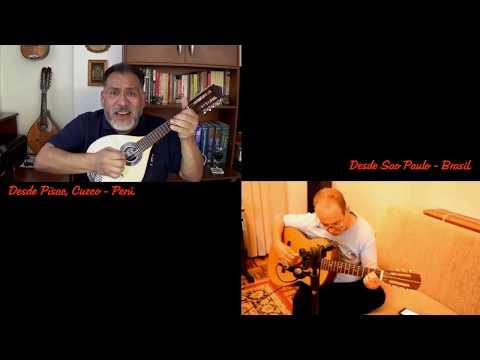 CLAVELITOS - Mandolina Y Guitarra Desde Dos Países (versión).