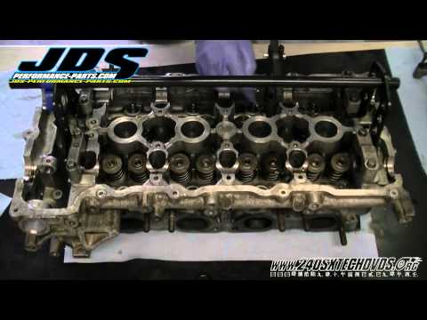 240sx How to Remove a Stuck Lifter SR20DET SR20 www