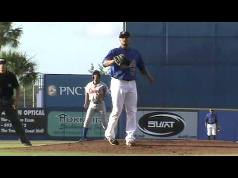 Johan Santana Pitches For St. Lucie Mets
