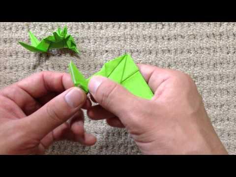 簡単 折り紙:折り紙 バッタ-youtube.com