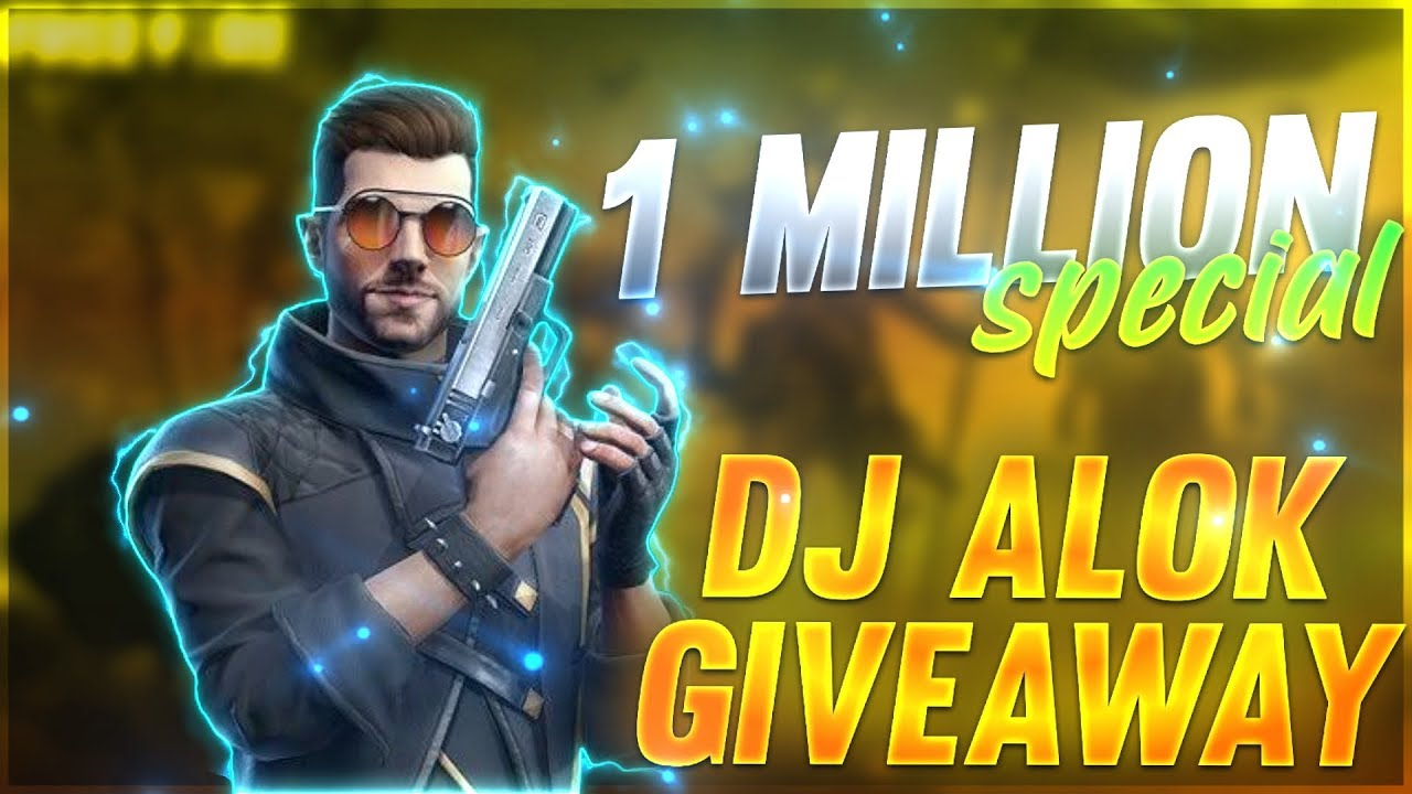 1 MILLION SPECIAL DJ ALOK GIVEAWAY | A_s GAMING |?THANKS TO EVERYONE|| #ajjubhai #Totalgaminglive