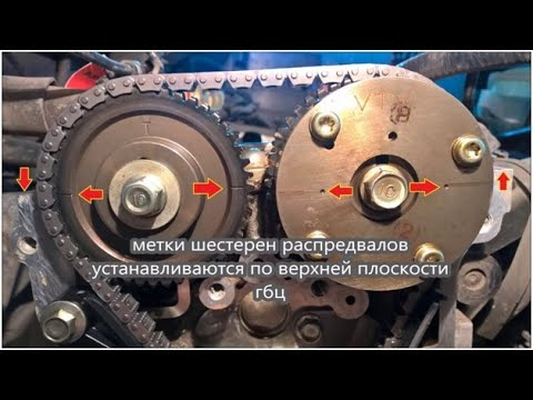 замена ГРМ / Mazda 3 1.6