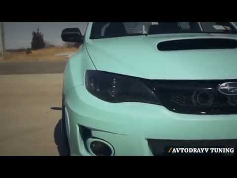 Обзор / Тюнингованная Subaru Impreza WRX STI 20th.