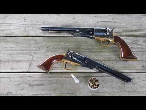 shooting the colt 1862 police revolver 36 caliber youtube