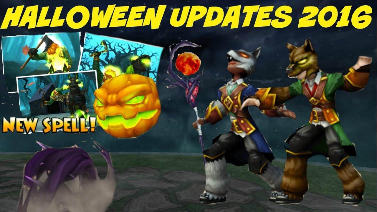 Wizard101: Halloween Updates 2016-