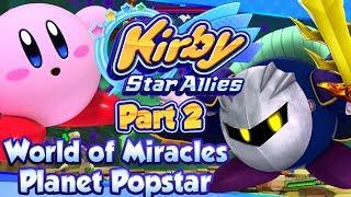 ABM: Kirby Star Allies !! Planet Popstar !! Walkthrough # 2 HD