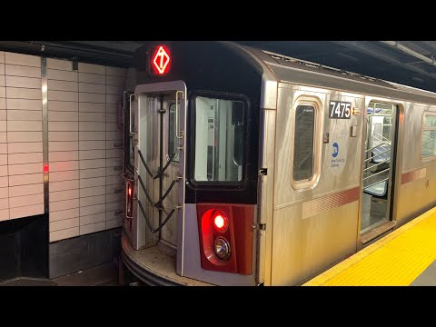 On Board A Flushing–Main Street Bound R188 7 Train Via Express From 34 St-Hudson Yards To Main St.