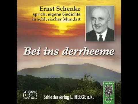 Cd Ernst Schenke Der Bekannte Schlesische Mundartdichter Spricht Eigene Gedichte 2 Hörproben