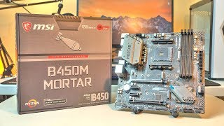 MSI B450M Mortar Review and Unboxing