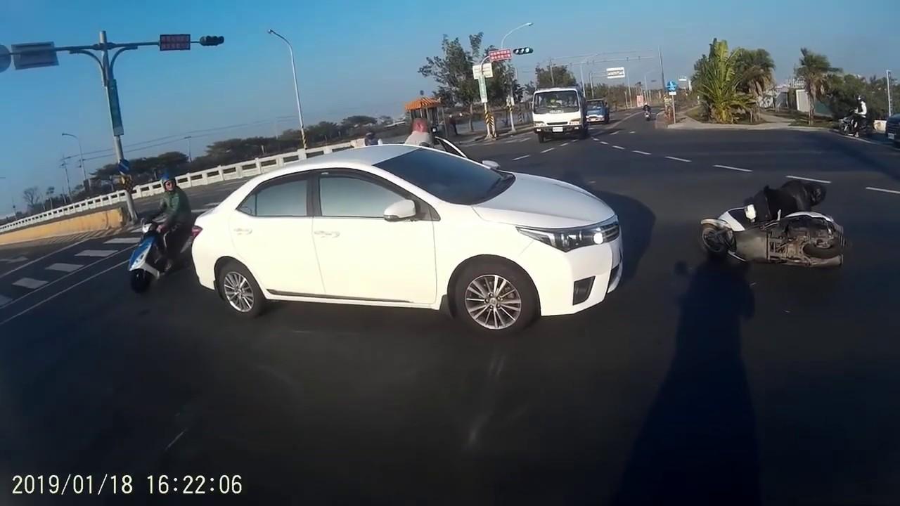 2019 1月 總和 JANNUARY 台灣車禍實錄 天雨路滑 行車請小心 车祸 交通事故動画 TAIWAN Cars Accidents Dashcam