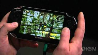 Playstation Vita - Uncharted Golden Abyss Gameplay E3 2011