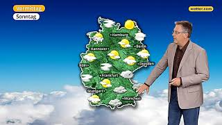 Wetterbericht: Die aktuelle wetter.com 3-Tages Vorhersage (16.09.2017)