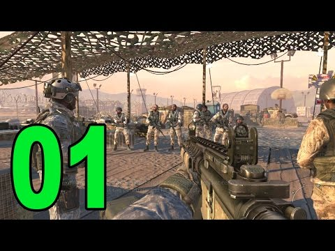 Modern Warfare 2 - Part 1 - The Pit (Let's Play / Walkthrough / Playthrough)