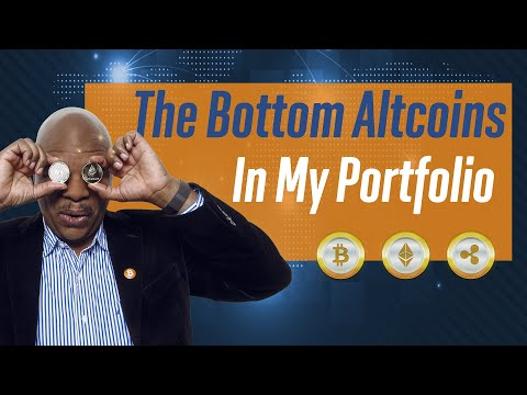 The bottom Altcoins in my portfolio