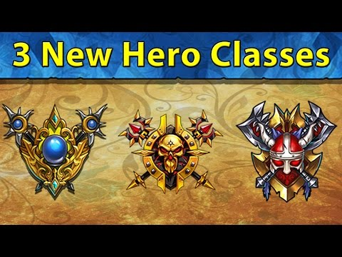 Gems of War: 3 New Hero Class Weapons and Teams
