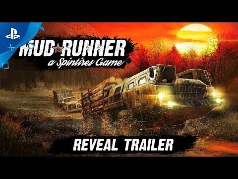 Spintires: MudRunner - Reveal Trailer | PS4