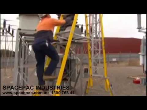 Spacepac Portable Work Platform Ladders