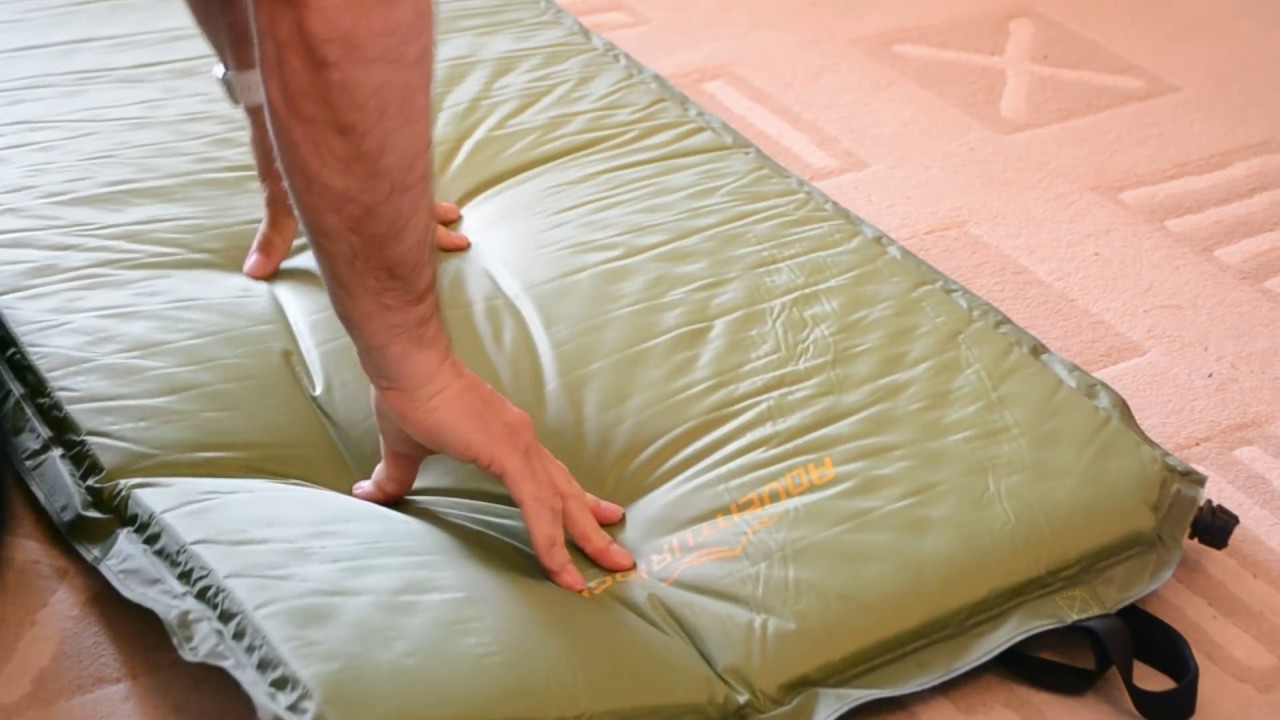 Self Inflating Matras : Aldi self inflating mat youtube