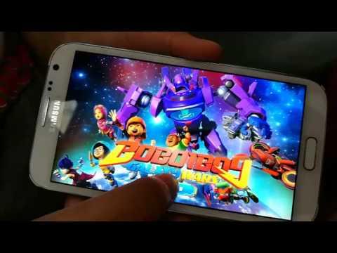 Boboiboy Galaxy AR choki choki