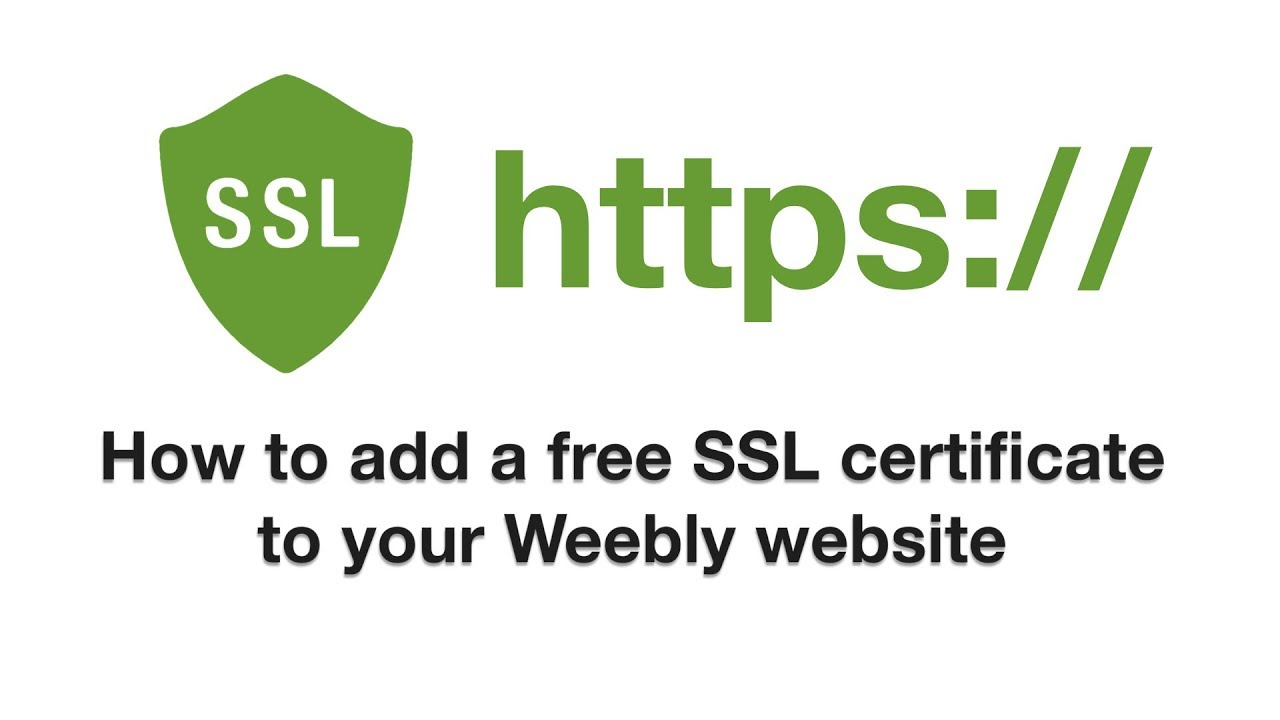 Add a free ssl certificate to your weebly website any plan youtube add a free ssl certificate to your weebly website any plan 1betcityfo Images