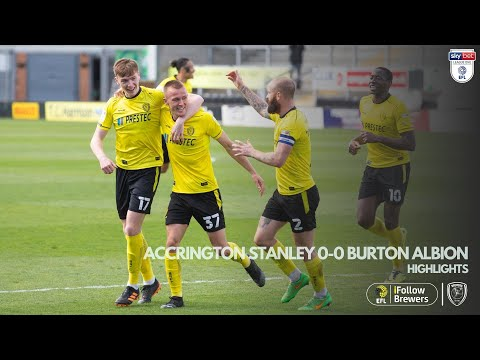 Accrington Burton Goals And Highlights