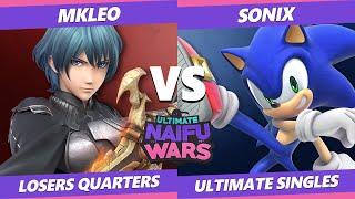 Naifu Wars 12 Losers Quarters - T1 | MkLeo (Byleth) Vs. LGCY | Sonix (Sonic) SSBU Singles