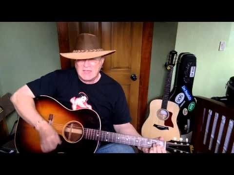 2014 -  Snake Farm -  Ray Wylie Hubbard vocal & acoustic guitar cover & chords
