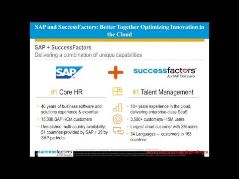 SAP SUccessfactors Online Training