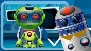 Five Little Robots | Nursery Rhymes For Kids And Children