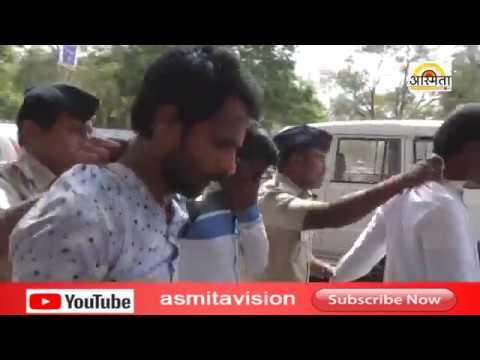 पत्रकारास धक्का - बुक्की  ...... /Asmita vision news Solapur/15-02-2019