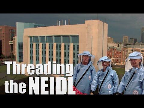 Threading the NEIDL: Go Inside a BSL-4 Lab
