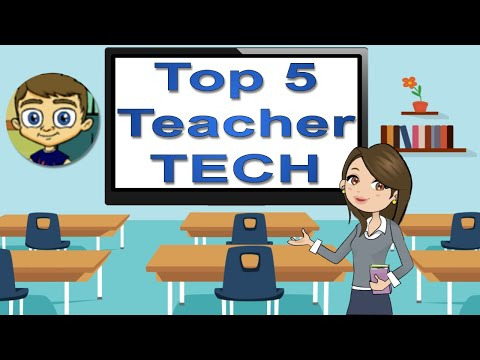 Top 5 Favorite Teacher Technology Websites in 2017