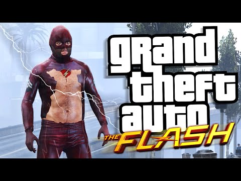 FASTEST DADBOD IN THE WORLD! - GTA 5 THE FLASH MOD - Funny Moments
