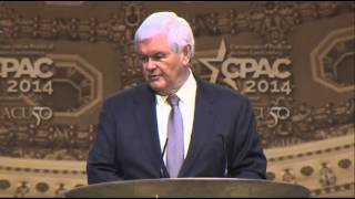 Gingrich to CPAC: