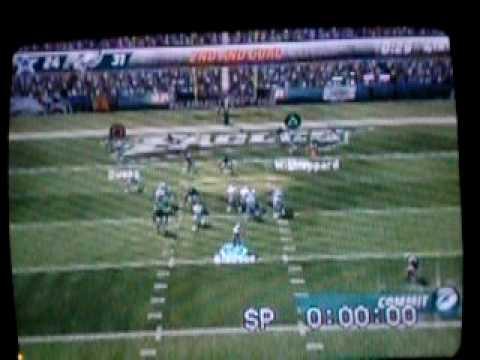 Lito Sheppard 102 Yard Return Madden