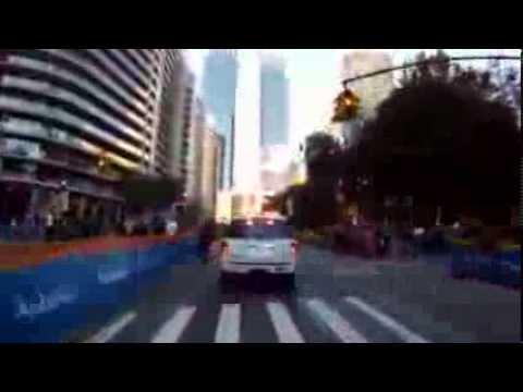 NYC Marathon Route