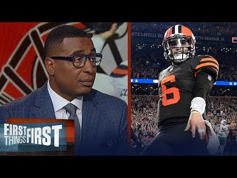 Cris Carter applauds Baker Mayfield defending himself & on Aaron Rodgers | NFL | FIRST THINGS FIRST