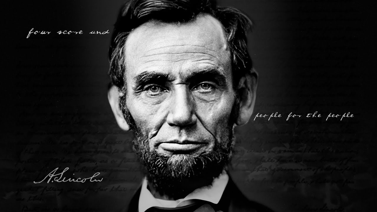 Greatest Speech in American History (Abe Lincoln's Gettysburg Address)