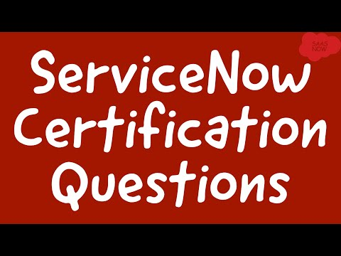 ServiceNow Admin Questions | Interview and Certification Preparation | Part I