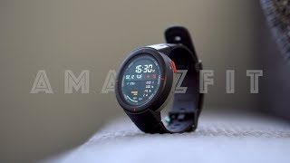 Xiaomi AMAZFIT Verge Smartwatch | Radically changed!